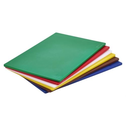 Blue Poly Cutting Board 18 x 12 x 0.5″Low Density PE