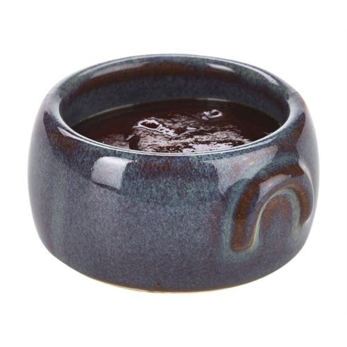 Terra Stoneware Rustic Green Butter Pot 3oz/90ml