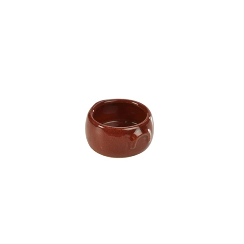 Terra Stoneware Rustic Red Butter Pot 3oz/90ml