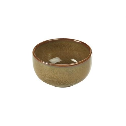 Terra Stoneware Rustic Brown Round Bowl 11.5cm11.5 (├ÿ) x 5.5 (H) cm – 36cl/12.5oz