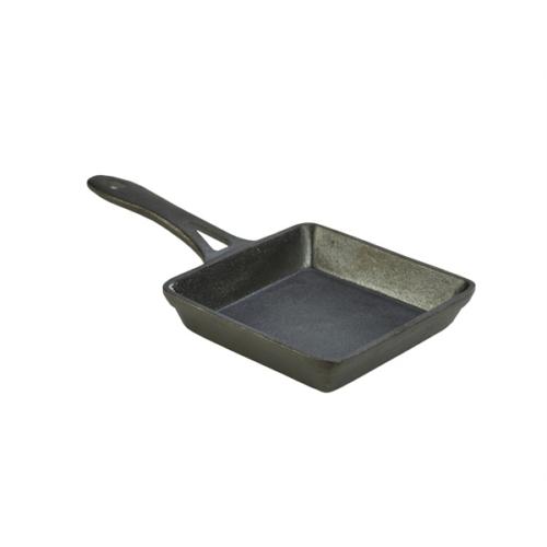 Mini Cast Iron Square Frypan 13X3cm