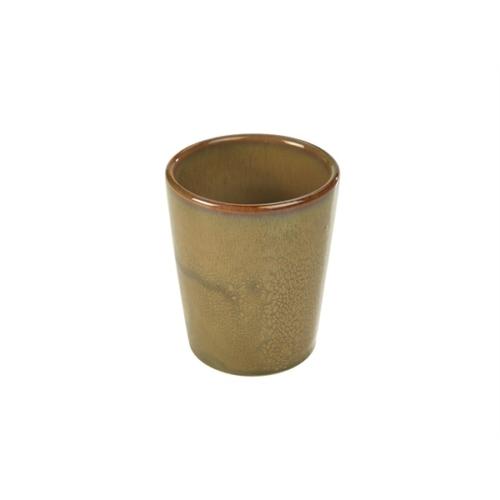 Terra Stoneware Rustic Brown Conical Cup 10cm8.5 (├ÿ) x 10 (H) cm – 32cl/11.25oz