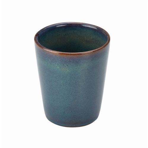 Terra Stoneware Rustic Green Conical Cup 10cm8.5 (├ÿ) x 10 (H) cm – 32cl/11.25oz