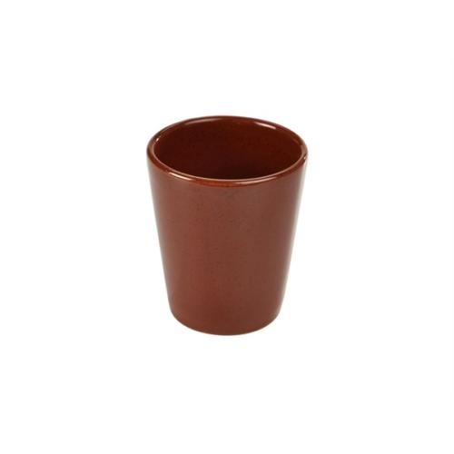 Terra Stoneware Rustic Red Conical Cup 10cm8.5 (├ÿ) x 10 (H) cm – 32cl/11.25oz