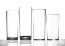Polycarbonate HiBall Glasses