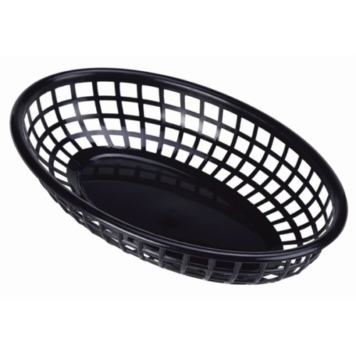 Fast Food Basket Black 23.5 x 15.4cm