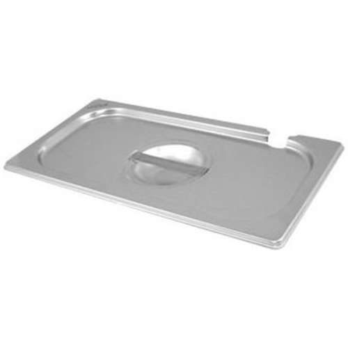 Stainless Steel Gastronorm Pan Notched Lid 1/6