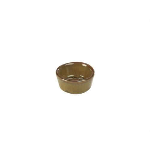 Terra Stoneware Rustic Brown Ramekin 1.5oz/45ml