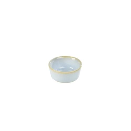 Terra Stoneware Rustic White Ramekin 1.5oz/45ml