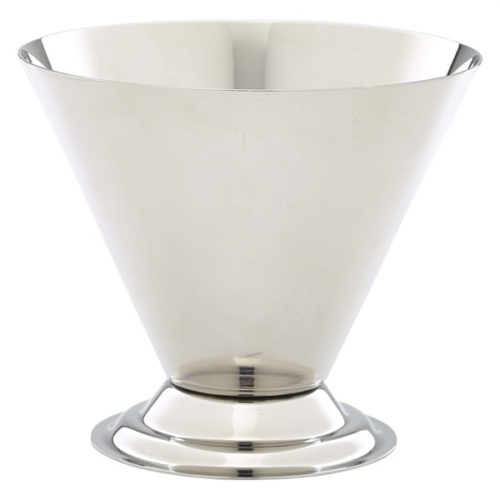 Stainless Steel Conical Sundae Cup10cm dia x 8.5cm