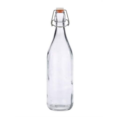Genware Glass Swing Bottle 1L / 35oz