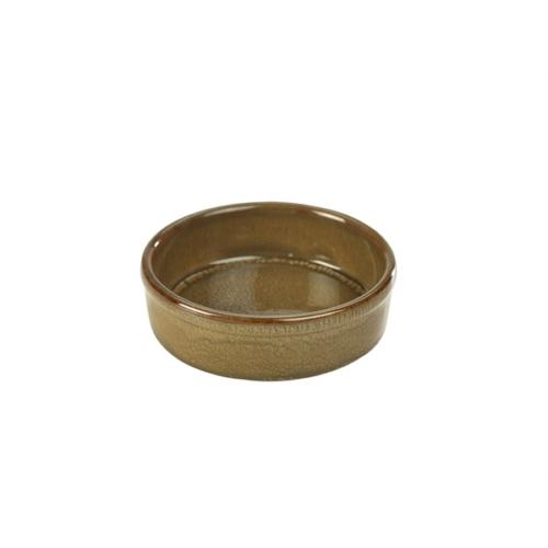 Terra Stoneware Rustic Brown Tapas Dish 13cm13 (├ÿ) x 3.5 (H) cm – 29cl/10.25oz