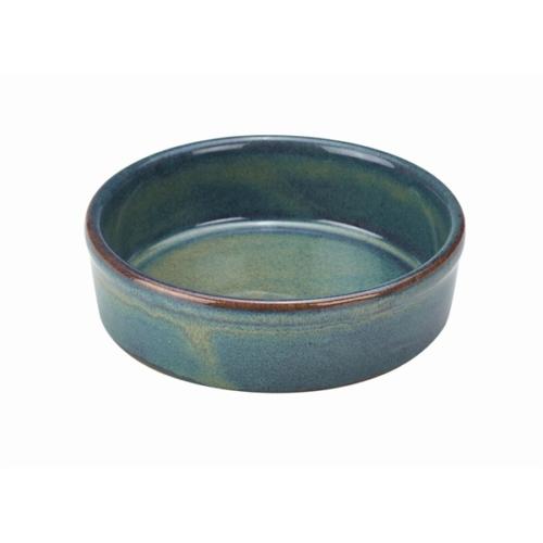 Terra Stoneware Rustic Green Tapas Dish 13cm13 (├ÿ) x 3.5 (H) cm – 29cl/10.25oz