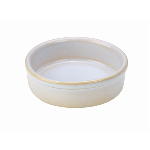 Terra Stoneware Rustic White Tapas Dish 10cm10 (├ÿ) x 3 (H) cm – 17cl/6oz