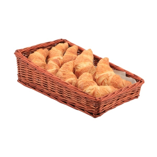 Wicker Display Basket 40X25X12cm – 6cm Front