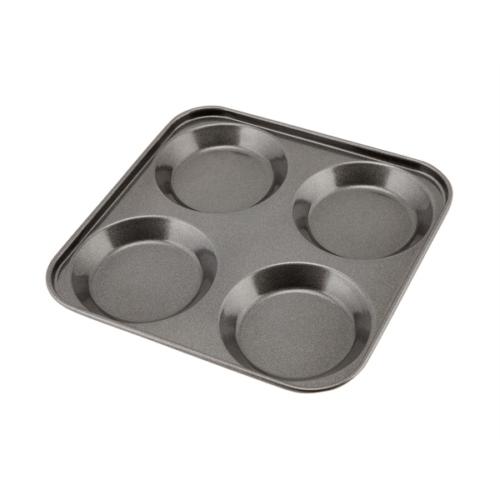 Carbon Steel Non-Stick 4 Cup York. Pudd TrayHoles diam 8cm