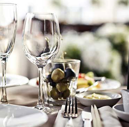 tableware catering products